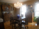 Formal dining room.