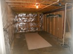 Basement utility & storage area.