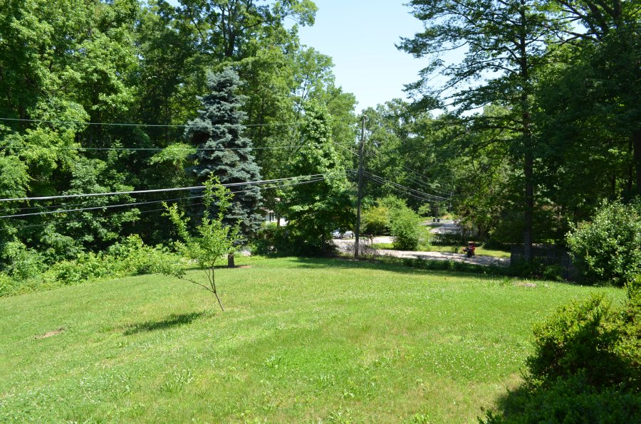 Property view from the front entry.