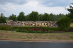 Lee's Parke entry at Spotsylvania County Parkway and U.S. Route 1 & 17.