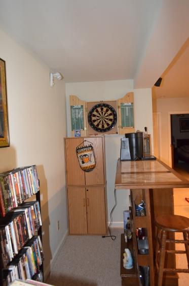 Bar area in basement of Hampton Oaks Subdivision 11 Arbor Lane Stafford, VA. 22554
