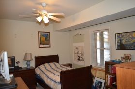 Basement bedroom at Hampton Oaks Subdivision 11 Arbor Lane Stafford, VA. 22554