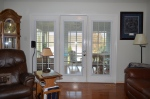 Entry into the sun room from the family room in Hampton Oaks Subdivision 11 Arbor Lane Stafford, VA. 22554