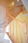 Stairway leading from the family room to the second level in 9012 Laurel Oak Lane Fredericksburg, Virginia 22407-9356