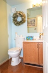 Main level bathroom in Hampton Oaks Subdivision 11 Arbor Lane Stafford, VA. 22554