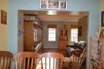View of living room from the dining room in Hampton Oaks Subdivision 11 Arbor Lane Stafford, VA. 22554