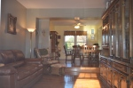 Living room & formal dining room in Hampton Oaks Subdivision 11 Arbor Lane Stafford, VA. 22554