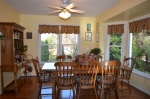 Formal dining room in Hampton Oaks Subdivision 11 Arbor Lane Stafford, VA. 22554