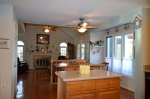 Kitchen & family room in Hampton Oaks Subdivision 11 Arbor Lane Stafford, VA. 22554