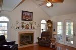 Family room in Hampton Oaks Subdivision 11 Arbor Lane Stafford, VA. 22554