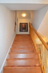 Main level stairway in Hampton Oaks Subdivision 11 Arbor Lane Stafford, VA. 22554