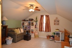 Second level study overlooking the main level living room in Hampton Oaks Subdivision 11 Arbor Lane Stafford, VA. 22554