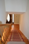 Main level staircase in Hampton Oaks Subdivision 11 Arbor Lane Stafford, VA. 22554