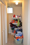 Furnace room and laundry area in Hampton Oaks Subdivision 11 Arbor Lane Stafford, VA. 22554