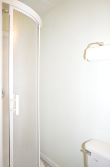 Full basement bathroom in Hampton Oaks Subdivision 11 Arbor Lane Stafford, VA. 22554