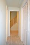 Basement utility hallway in Hampton Oaks Subdivision 11 Arbor Lane Stafford, VA. 22554