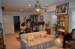 Basement recreation room in Hampton Oaks Subdivision 11 Arbor Lane Stafford, VA. 22554