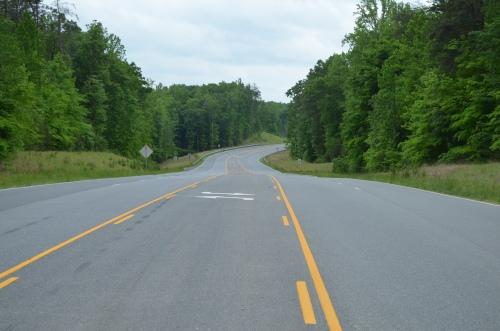 Austin Ridge Drive in Stafford County