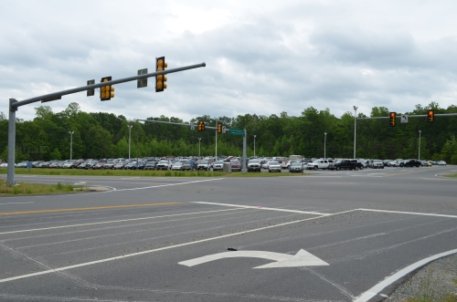 Courthouse Road Commuter Lot in Stafford County